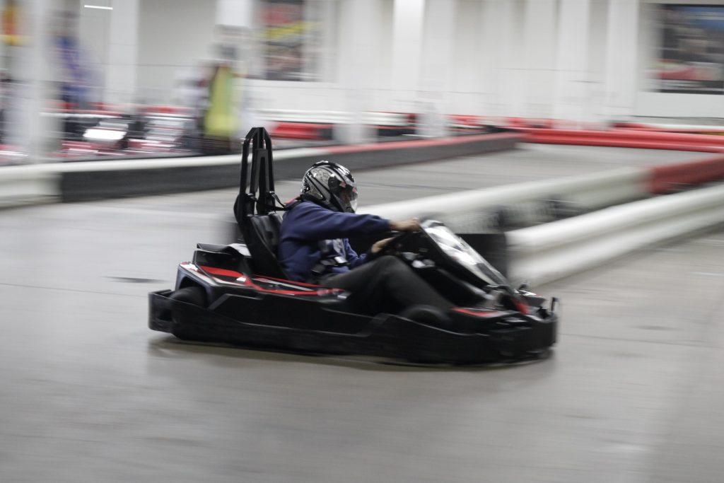 karting-kuljettaja